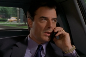 Mr. Big played by Chris North, in Sex and the City