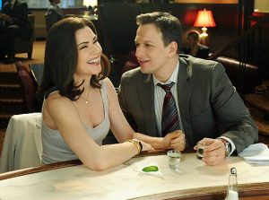 Alicia Florrick and Will Gardner, played by Josh Charles