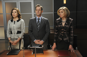 "3 of my favourite characters on ""The Good Wife"""